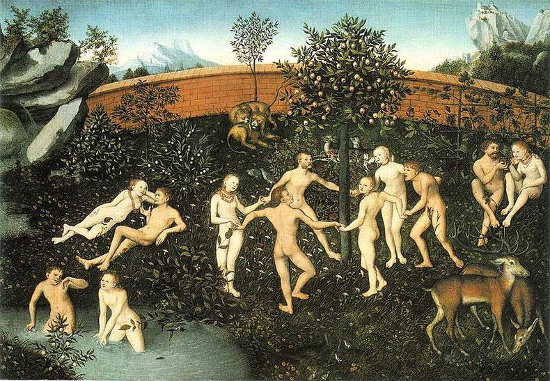 Das Goldene Zeitalter. Lucas Cranach der Ältere, um 1530