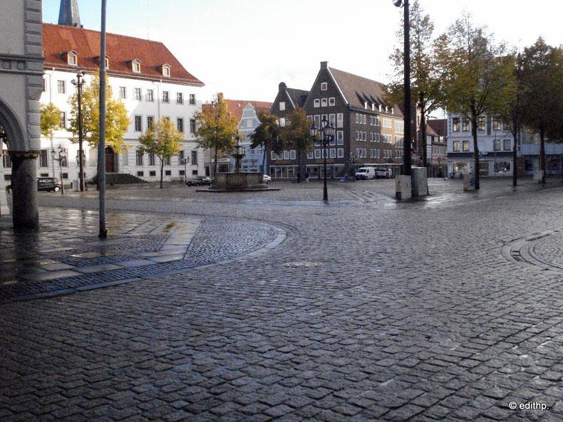 Marktplatz, Blick vom Rathaus