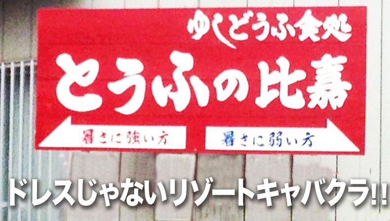 石垣島のドレスじゃないリゾートコスプレキャバクラ「CAMP META-CAT」豆腐の比嘉