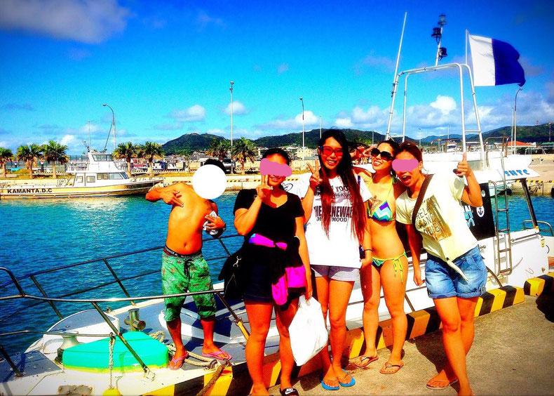沖縄石垣島のドレスじゃないリゾートコスプレキャバクラ[CAMP META-CAT] ファンダイビング