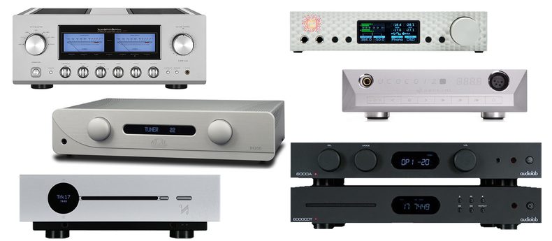Audiolab, Atoll, Creek, Quad, NuPrime, Mytek