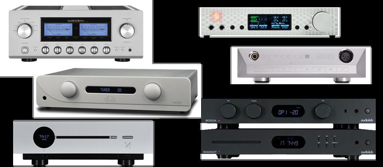 Audiolab, Atoll, Creek, Quad, NuPrime, Mytek