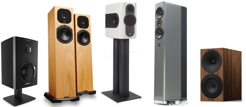 Dynaudio, Neat Acoustics, Kii Audio, Amphion, Audioengine