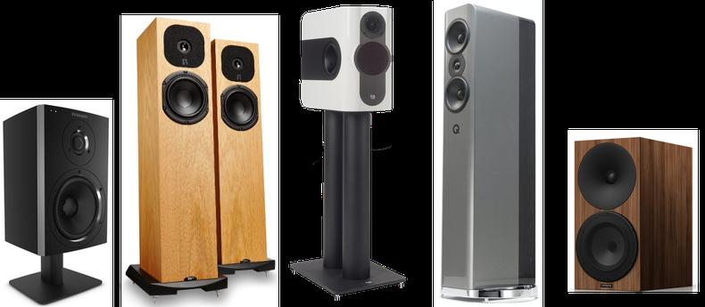 Dynaudio, Neat Acoustics, Kii Audio, Amphion, Audioengine, Qacoustics, Wharfedale