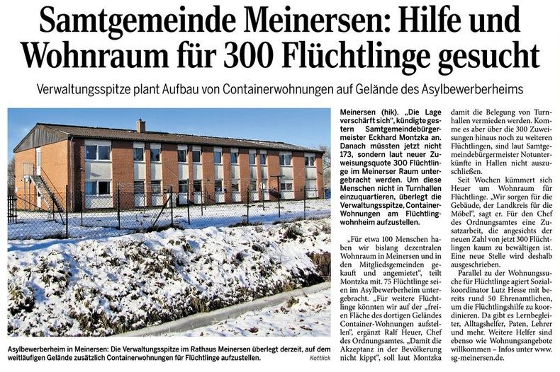 Aller-Zeitung vom 23.1.2016