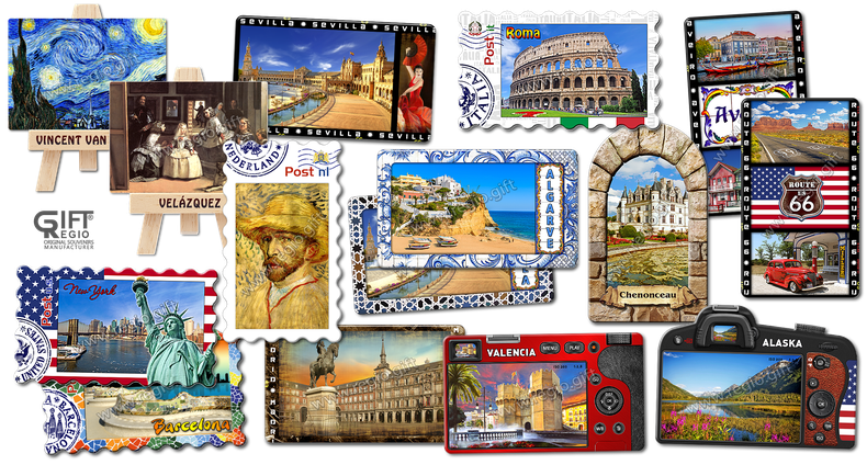 Originals Fridge magnets for tourists