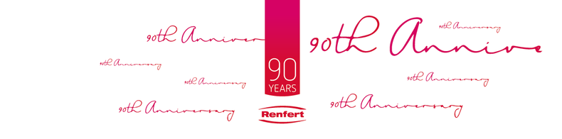Private Label Etikett zu einem 90. Firmenjubiläum