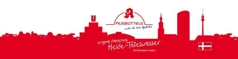 Etikett für Ausbüttels Apotheke