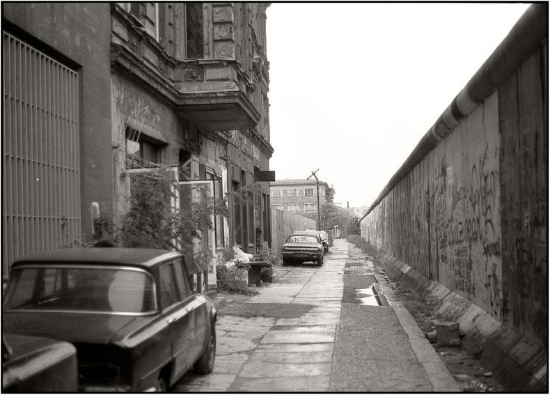 Die Zimmerstrasse vor 25 Jahren