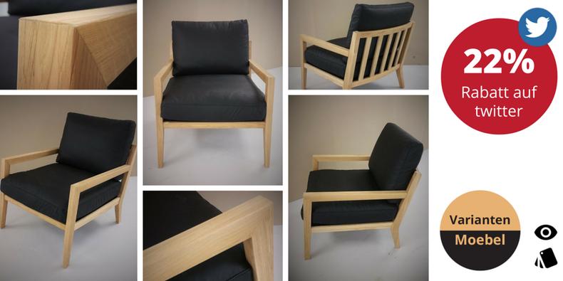 Antik insipirierter Sessel mit Holzgestell, mit Rabatt