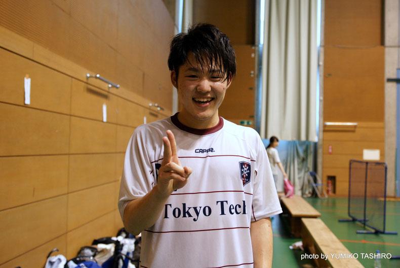 東京工業大学フットサル部 高橋健一選手