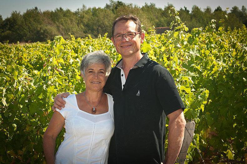 Bruno & Patricia-Denis| Domaine de la Renaudie