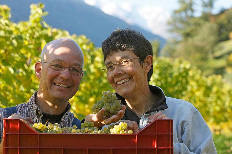 Giesela & Martin-Aurich | Weingut Unterortl