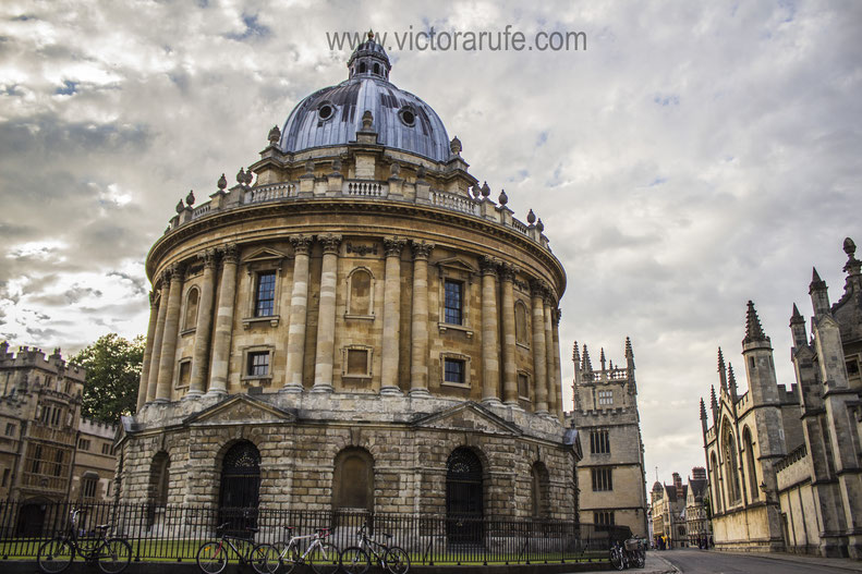 Cámara Radcliffe en Oxford