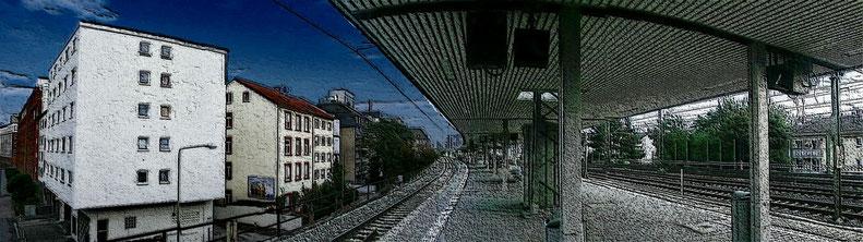 Gallus - S-Bahnstation Galluswarte