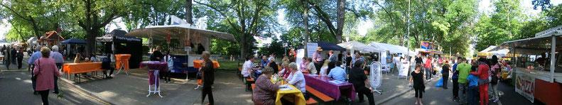 Stadtteilfest - Gallus leuchtet - 01.09.2012