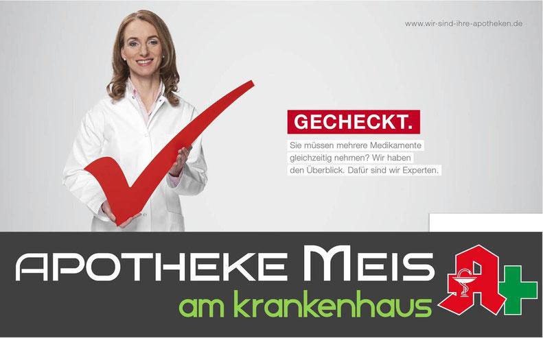 Beratung Arzneimittel Medikamente Apotheke Meis am Krankenhaus Cloppenburg