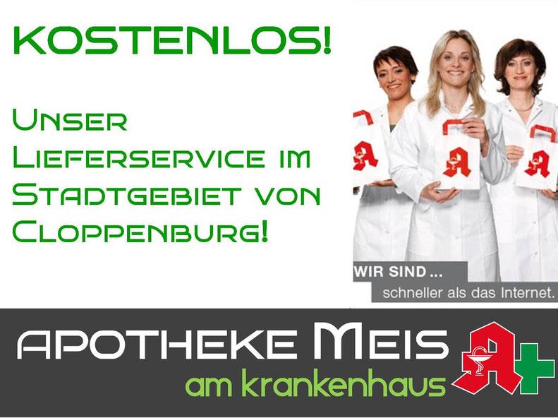 Botendienst kostenlos apotheke meis am krankenhaus cloppenburg