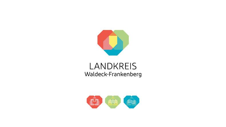Portfolio Dorina Rundel - Grafikdesignerin: Landkreis Waldeck-Frankenberg Corporate Design