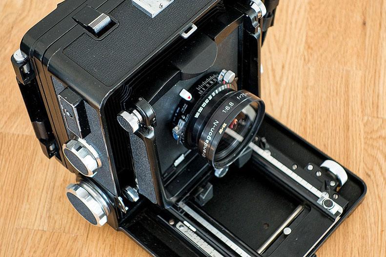Praxisbericht zur WISTA 45SP. Welche Brennweiten sind mit der Laufbodenkamera möglich? Foto: bonnescape.de