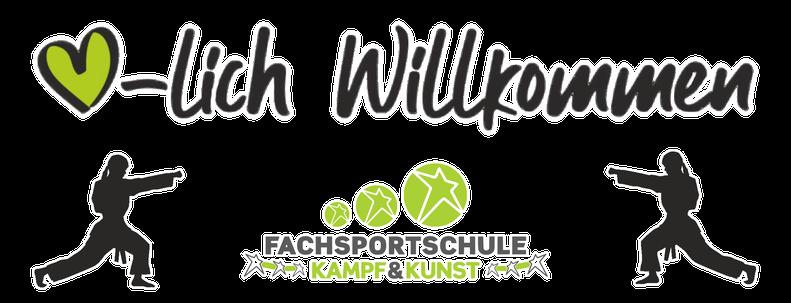 Herzlich Willkommen Banner Kampfsport Papenburg