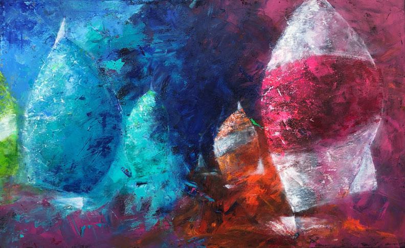 Spigang | Acryl | 80 x 130 cm