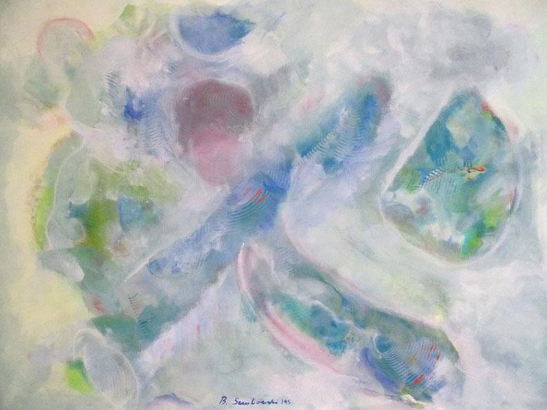 Öffne Dein Herz von Britta Sembowski Spirituelle Kunst und Reiki