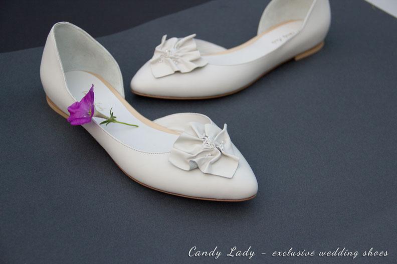 Свадебные балетки купить индивидуальный пошив Киев Одесса Москва Спб white bridal wedding shoes pumps