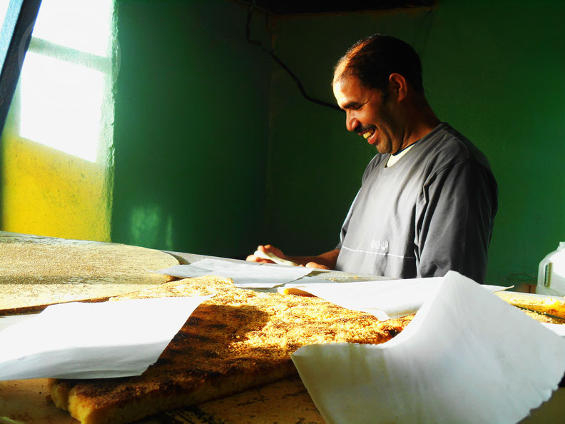 La bellezza di un sorriso sincero - Bouarfa, Marocco