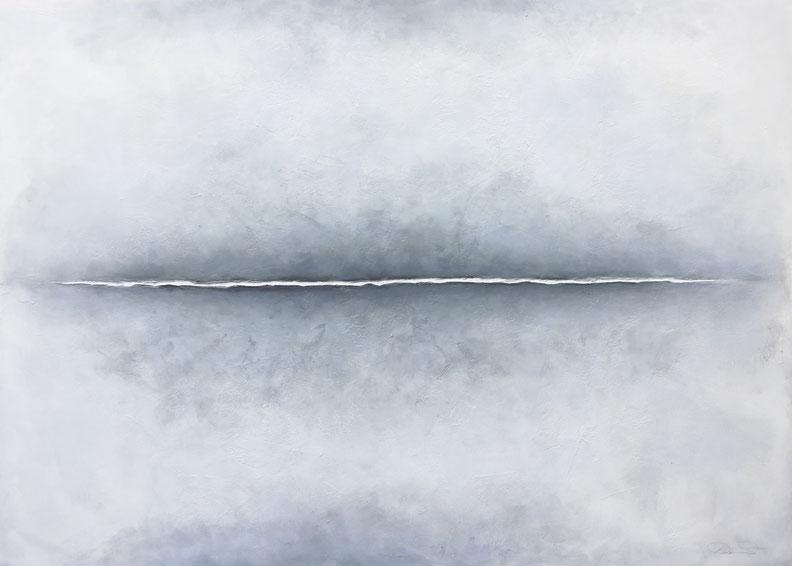 HORIZONT-FE 06 | 180 x 250cm | Mixed Media auf Leinwand