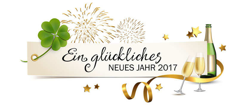 extrafit GbR wünscht ein gutes neuse Jahr 2017