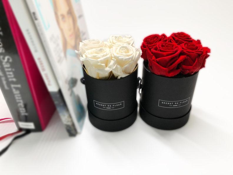 Cadeau tendance 2018 les roses stabilisées