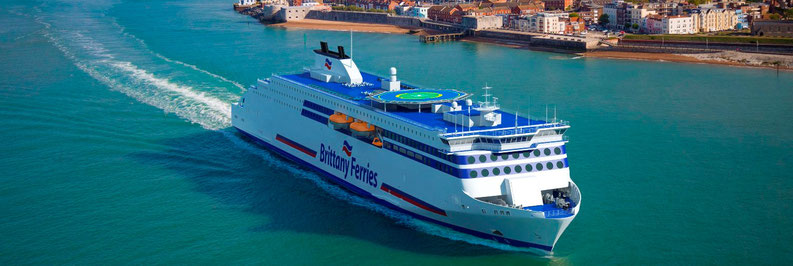 Brittany Ferries' news - Brittany Seas Ships
