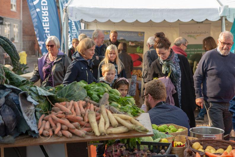 Unterwegs auf dem Herbstmarkt in Odsherred. Foto: VisitOdsherred/PR