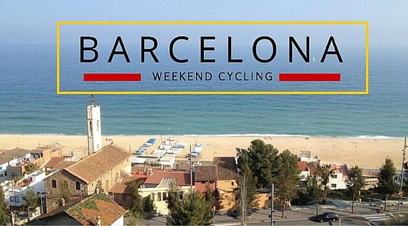 Weekend road cycling in Barcelona, Catalunya, Spain