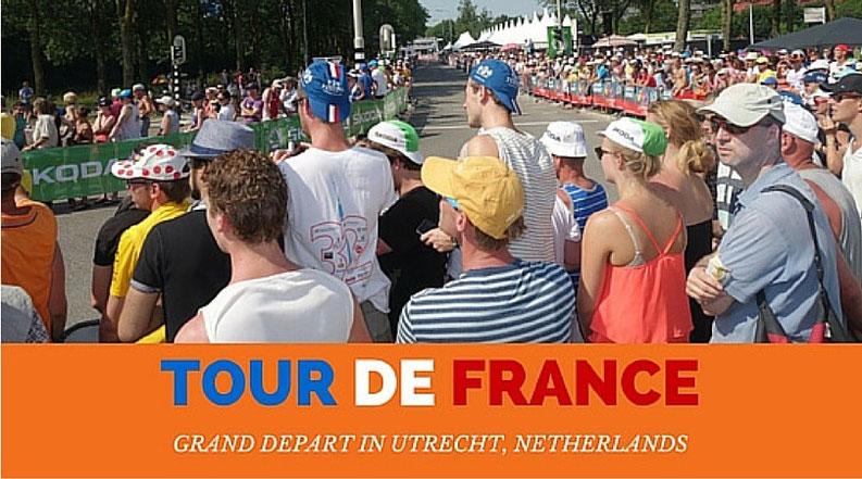 Visiting the Tour de France Grand Depart in Utrecht, Netherlands