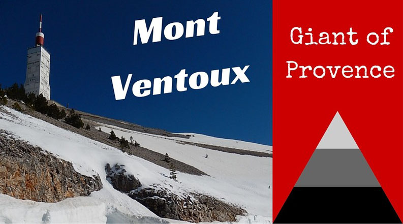 Road cycling the Mont Ventoux giant of Provence France
