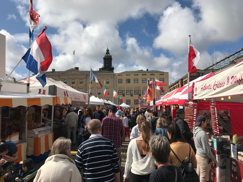 Markets of Göteborg City