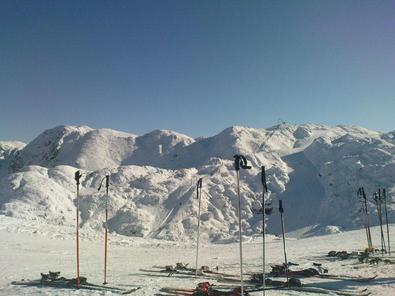 Living in Slovenia - At Vogel ski resort