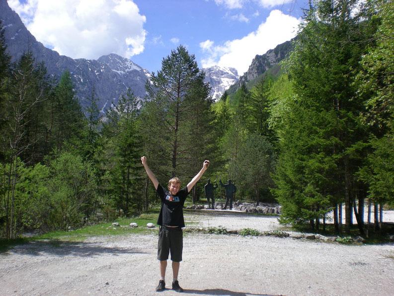 Living in Slovenia - At Logar Valley