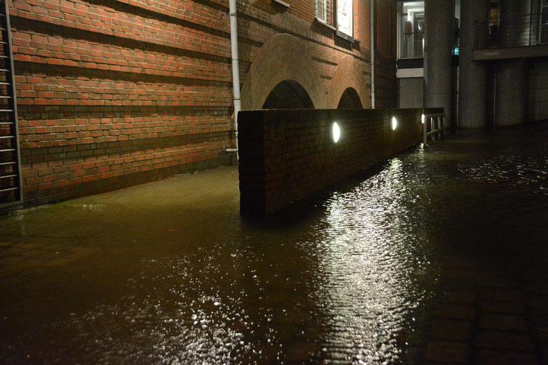 Hamburg unter Wasser