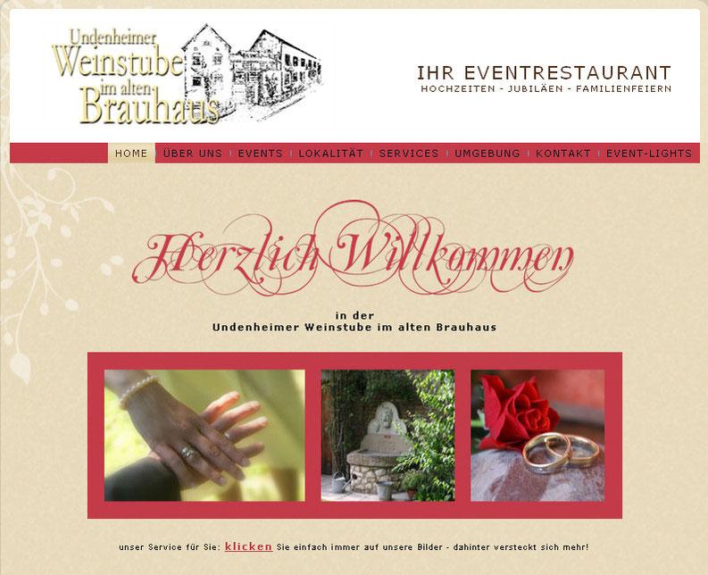 Location: Undenheimer Weinstube