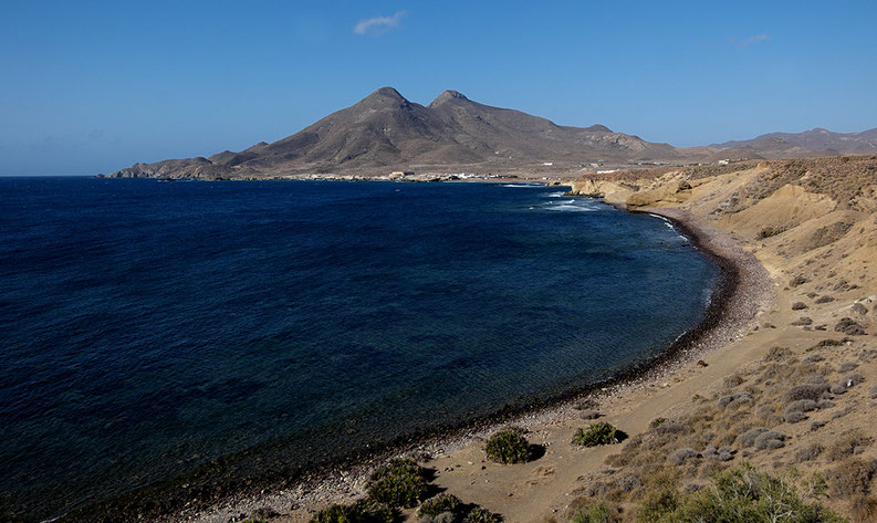 Los escullos à Cabo de Gata