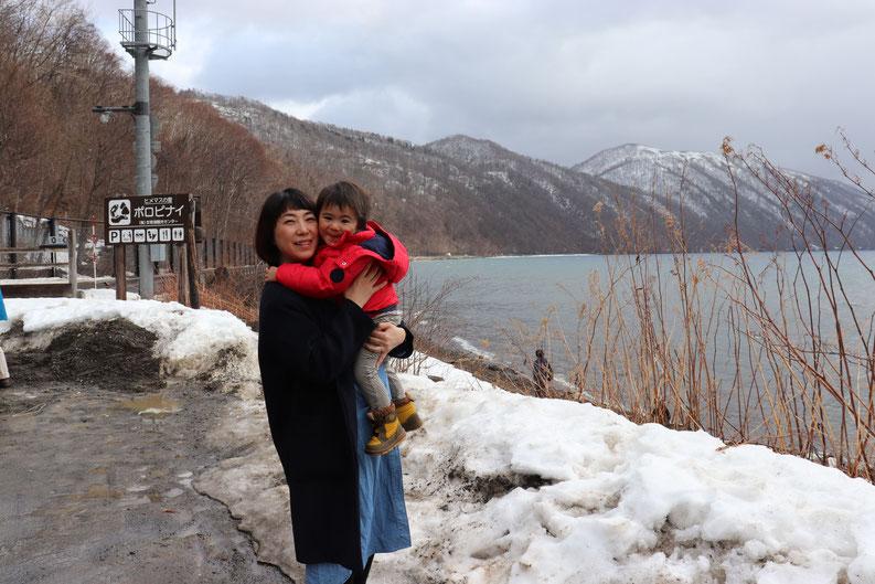 ▲北海道でフルテレワークをしながら子育てをしている社員