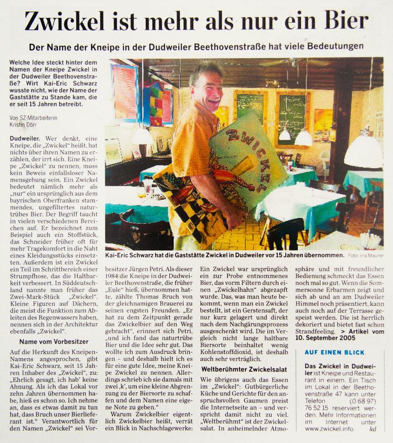 SZ-Artikel vom 10.09.2005  – Draufklicken zum Vergrößern!