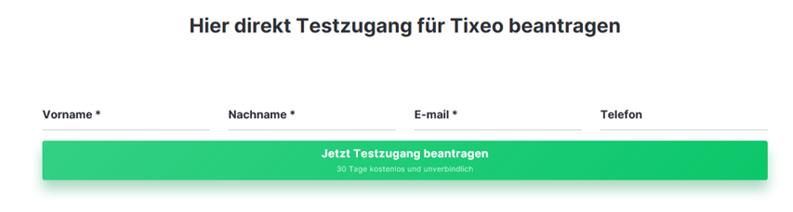 Bild zur Aufforderung zur Anmeldung für einen Testzugang für Tixeo um über Kanzleiberatung Jasis Consulting