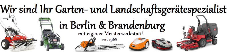 Hemprich Motorgeräte GmbH , STIHL SABO TORO Weibang Husqvarna Tielbürger Kress Iseki Honda Billy Goat