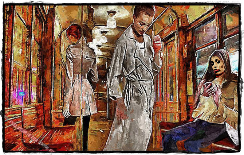 Ragazze in Tram a Milano