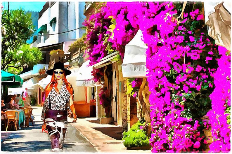 Passeggiando per Capri