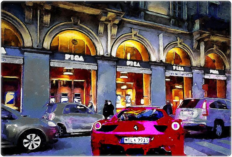 """La """"Rossa"""" a Milano"""